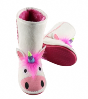 Toasty Toez Unicorn Slipper Boots for Children